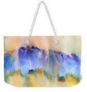 Mountain And Hill Abstract Weekender Tote Bag