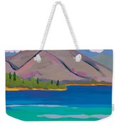 Mountain And Pines Weekender Tote Bag