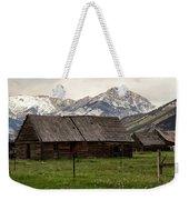 Mountain Barn Weekender Tote Bag