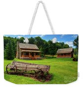 Mountain Cabin - Rural Idaho Weekender Tote Bag
