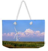 Mountain Clouds And Windmills Weekender Tote Bag