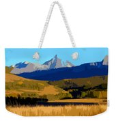 Mountain Country Weekender Tote Bag