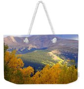Mountain Fall Weekender Tote Bag