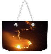 Mountain Fire Weekender Tote Bag