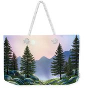 Mountain Firs Weekender Tote Bag