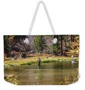 Mountain Fisherman Weekender Tote Bag