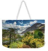Mountain Flora Weekender Tote Bag