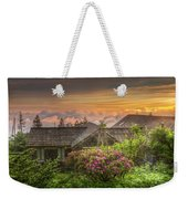 Mountain Flowers At Sunrise Weekender Tote Bag