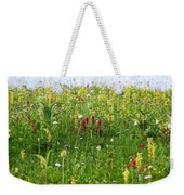 Mountain Flowers Weekender Tote Bag