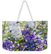 Mountain Flowers Weekender Tote Bag
