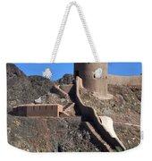Mountain Fort Weekender Tote Bag