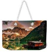 Mountain Getaway Weekender Tote Bag