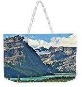 Mountain Glacier And Lake  Weekender Tote Bag