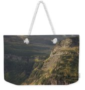 Mountain Glacier Weekender Tote Bag