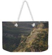 Mountain Glacier Weekender Tote Bag