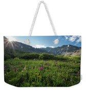 Mountain Glory Weekender Tote Bag