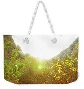 Mountain Glow Weekender Tote Bag
