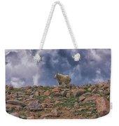 Mountain Goat Overlook Weekender Tote Bag