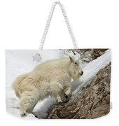 Mountain Goat With Grace Weekender Tote Bag