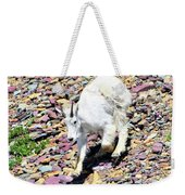 Mountain Goat3 Weekender Tote Bag
