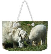 Mountain Goats Weekender Tote Bag