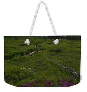 Mountain Heather Sunset Weekender Tote Bag