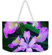 Mountain Iris In Flower California Weekender Tote Bag