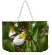 Mountain Lady Slippers Up Close Weekender Tote Bag