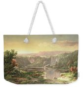 Mountain Lake Near Piedmont Weekender Tote Bag