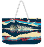 Mountain  Landscape Poster Weekender Tote Bag