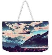 Mountain  Landscape Vista Weekender Tote Bag