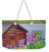 Mountain Laurel By The Cabin Weekender Tote Bag