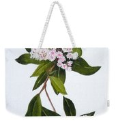 Mountain Laurel Weekender Tote Bag