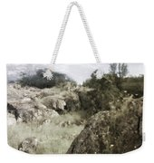 Mountain Lion Country Weekender Tote Bag