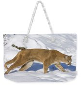 Mountain Lion Puma Concolor Hunting Weekender Tote Bag