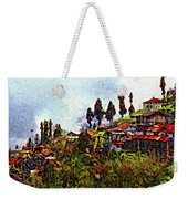 Mountain Living Impasto Weekender Tote Bag