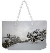 Mountain Lonely Tree Weekender Tote Bag