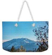 Mountain Majestic Weekender Tote Bag