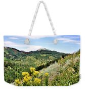 Mountain Meadows Weekender Tote Bag