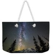 Mountain Milky Way Weekender Tote Bag