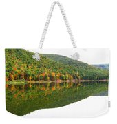 Mountain Mirror Weekender Tote Bag