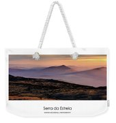 Mountain Mist Poster Weekender Tote Bag