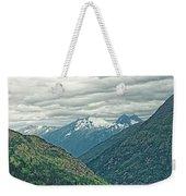 Mountain Pass Weekender Tote Bag