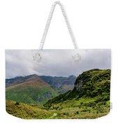 Mountain Path Horiz Weekender Tote Bag