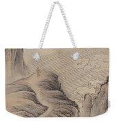 Mountain Path Landscape Ink Painting Weekender Tote Bag
