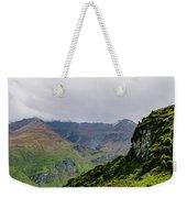 Mountain Path Vert Weekender Tote Bag