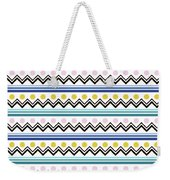Mountain Pattern Weekender Tote Bag