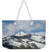 Mountain Peak Weekender Tote Bag