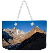 Mountain Peak, Kumuche Himal Weekender Tote Bag