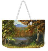 Mountain Pond Weekender Tote Bag